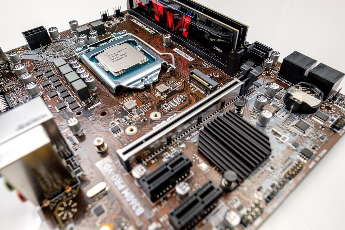 The computer motherboard